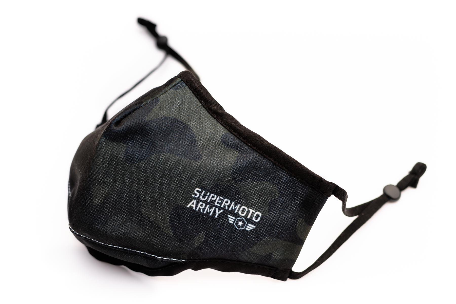 masque supermoto army édition limitée
